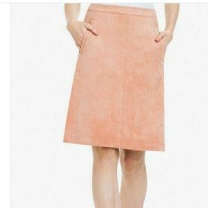 BCBGMaxAzria - Alexandra, faux suede skirt